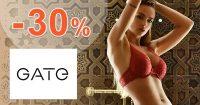 Zľavový kód -30% na spodné prádlo na GATE.shop