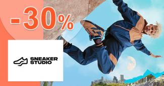 Zľavový kód -30% na všetko na SneakerStudio.sk