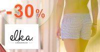 Zľavový kód -30% pre deti na ELKA-Underwear.sk