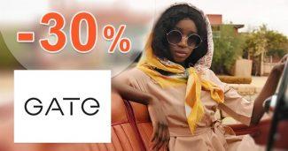 Zľavový kód -30% zľava NA VŠETKO na GATE.shop