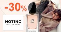 Zľavový kód -30% zľava na posledné kusy na Notino.sk