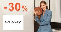 Zľavový kód -30% zľava na módu na Orsay.sk