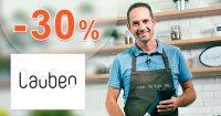 Zľavový kód -30% zľava na všetko na Lauben.com