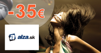 Zľavový kód -35€ zľava na fotoaparáty na Alza.sk