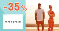Zľavový kód -35% zľava na všetko na MyProtein.sk