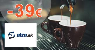 Zľavový kód -39€ na kávovary Ariete na Alza.sk