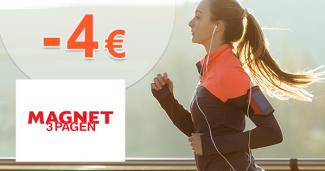 Zľavový kód -4€ na všetko na Magnet-3pagen.sk