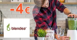 Zľavový kód -4€ zľava k nákupu na Blendea.cz