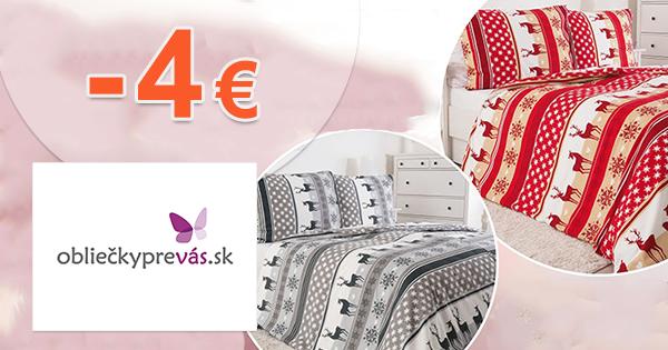 Zľavový kód -4€ zľava na OblieckyPreVas.sk