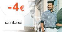 Zľavový kód -4€ zľava na všetko Ombre