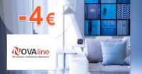 Zľavový kód -4€ zľava na všetko na Novaline.sk