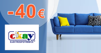 Zľavový kód -40€ zľava NA NÁBYTOK na Okay.sk