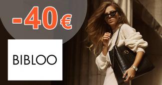 Zľavový kód -40€ zľava na všetko na Bibloo.sk