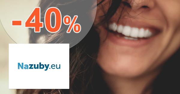 Zľavy až -40% na NaZuby.eu + doprava ZDARMA