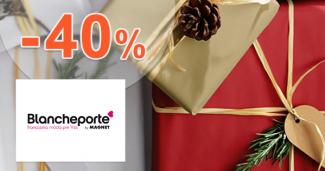 Zľavový kód -40% zľava na BlanchePorte.sk