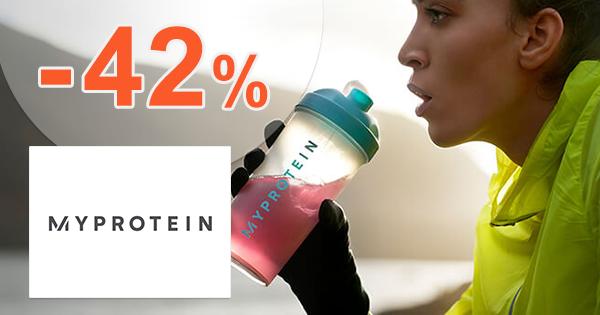 Zľavový kód -42% na MyProtein.sk + doprava ZDARMA