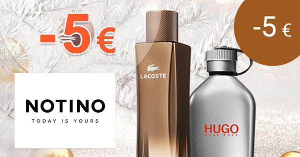 Zľavový kód -5€ na Notino.sk na vybrané parfémy