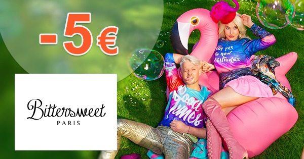 Zľavový kód -5€ na všetko na BittersweetParis.sk