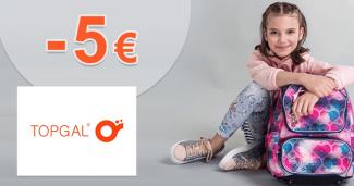 Zľavový kód -5€ zľava k nákupu na Topgal.sk