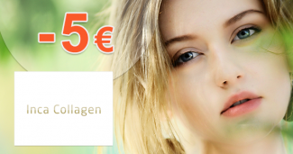 Zľavový kód -5€ zľava na IncaCollagen.sk