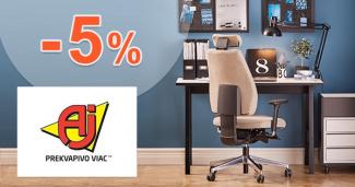 Zľavový kód -5% na AJProdukty.sk