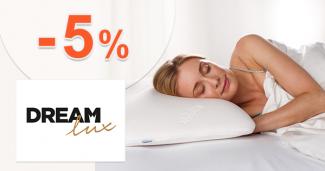 Zľavový kód -5% na Dreamlux.sk