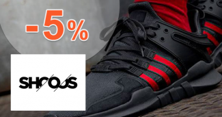 Zľavový kód -5% na Shooos.sk, kupón, akcia, zľava