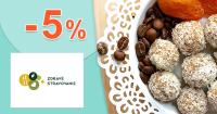 Zľavový kód -5% na ZdraveStravovanie.sk + doprava ZDARMA