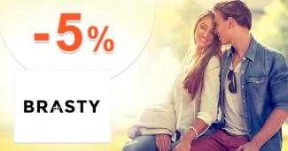 Zľavový kód -5% na Brasty.sk na Black Friday tovar
