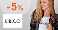 Zľavový kód -5% zľava na Bibloo.sk