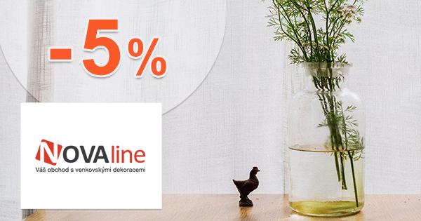 Zľavový kód -5% zľava na nábytok na Novaline.sk