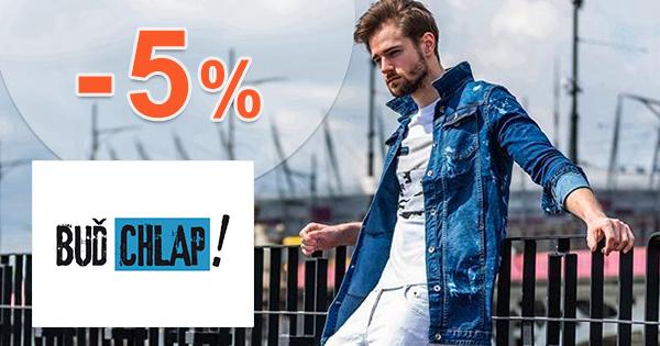 Zľavový kód -5% zľava na všetko na BudChlap.sk