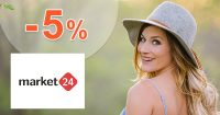 Zľavový kód -5% zľava na všetko na Market24.sk