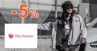 Zľavový kód -5% zľava na všetko na MiaDresses.sk