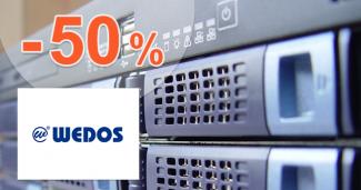 Zľavový kód -50% na .EU domény na Wedos