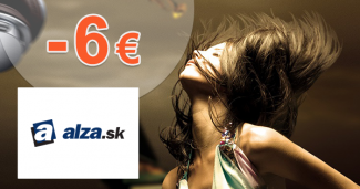 Zľavový kód -6€ zľava na kozmetiku na Alza.sk