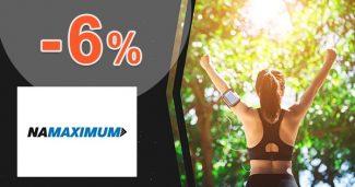 Zľavový kód -6% zľava k nákupu na NaMaximum.sk
