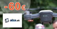 Zľavový kód -60€ zľava na drony na Alza.sk