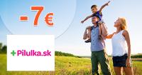 Zľavový kód -7€ na Pilulka.sk