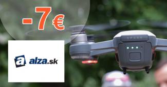 Zľavový kód -7€ na robotické hračky na Alza.sk