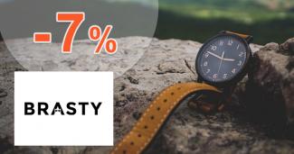 Zľavový kód -7% na hodinky Festina na Brasty.sk