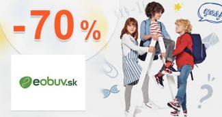Zľavový kód -70% ZĽAVA na RUKSAK na eObuv.sk