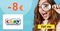Zľavový kód -8€ na Okay.sk, kupón, akcia, zľava