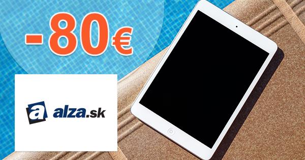 Zľavový kód -80€ na tablety Samsung na Alza.sk
