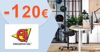 Zľavový kód až -120€ extra zľava na AJProdukty.sk