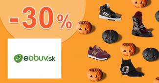 Zľavový kód až -30% zľava k nákupu na eObuv.sk