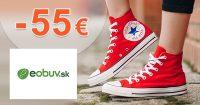 Zľavový kód až -55€ zľava na všetko na eObuv.sk