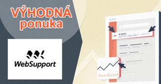 Zľavový kód na EasySEO na 1. mesiac za 1€ na WebSupport.sk