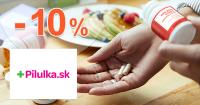 Zľavy až -10€ na doplnky stravy na Pilulka.sk