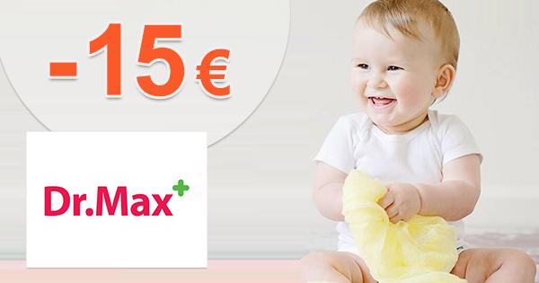 Zľavy až -15€ na posledné kusy na DrMax.sk